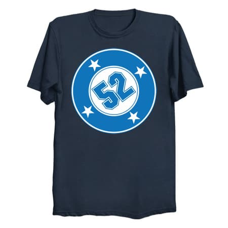 Number 52 with a Bullet T-Shirt