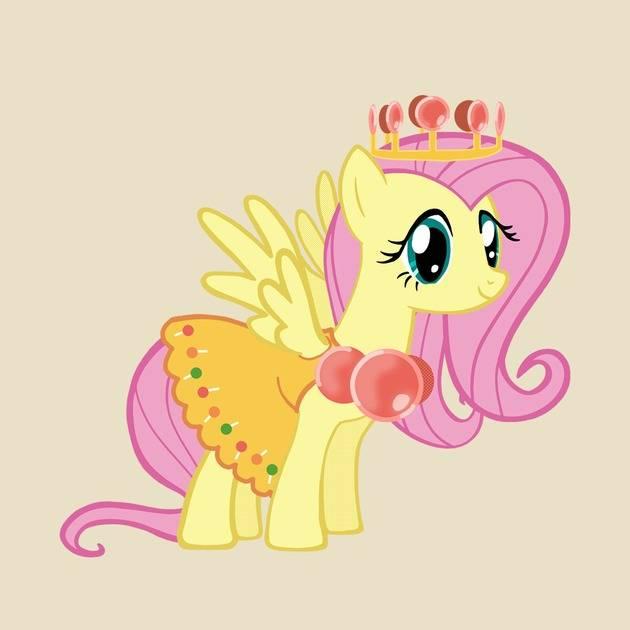 Princess Fluttershy Lolly