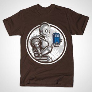THE GIANT'S BLUE BOX Brown T-Shirt