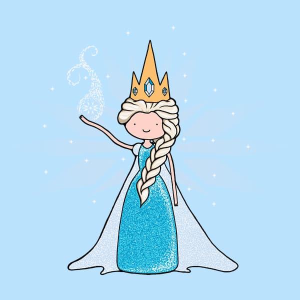 Adventure Time Queen Elsa