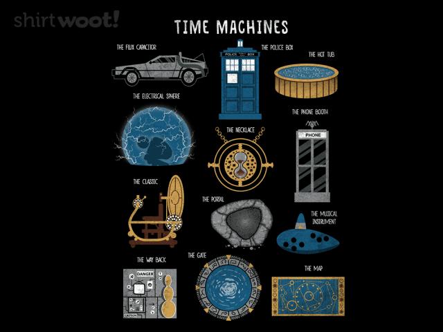 Time Machines Redux