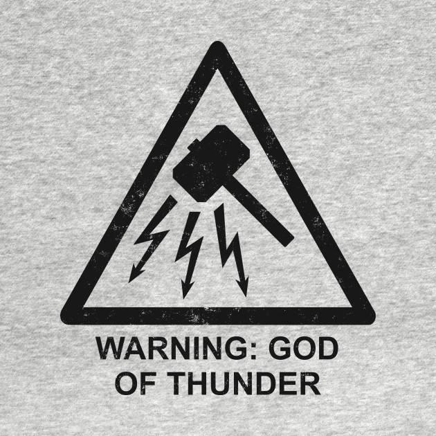 Warning God of Thunder