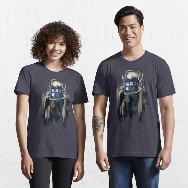 Doctor Who Wibbly Wobbly Blinky Winky T-Shirt