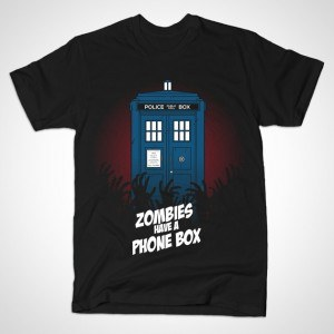 ZOMBIES HAVE A PHONE BOX