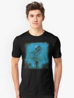 Attack on Dinosaur - Blue T-Shirt