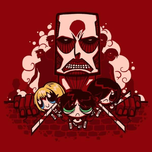 Attack on Titan/Powerpuff Girls