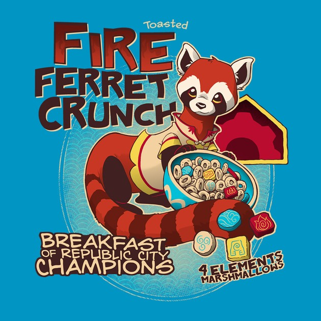 FIRE FERRET CRUNCH