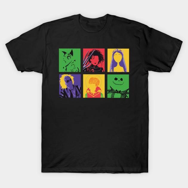 Tim Burton Movie T-Shirt