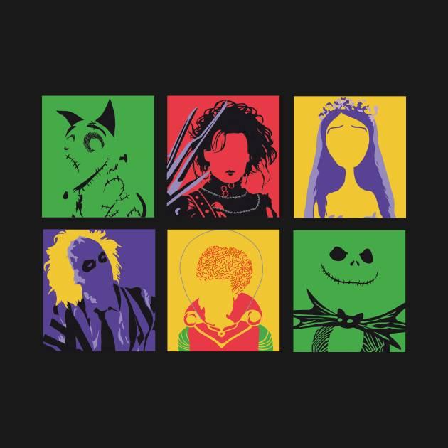 Spooky pop art