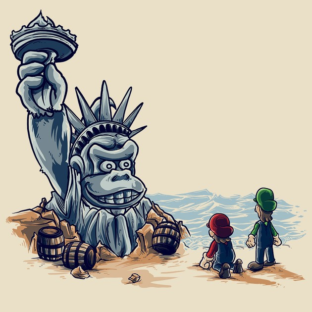 THE PLANET OF THE KONG
