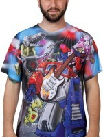 Autobots Rock Sublimation T-Shirt