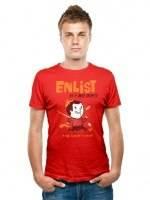 ENLIST AS A RED SHIRT T-Shirt