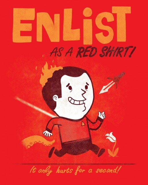 ENLIST AS A RED SHIRT