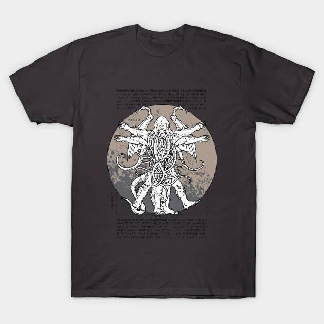 Lovecraftian Man 02 T-Shirt