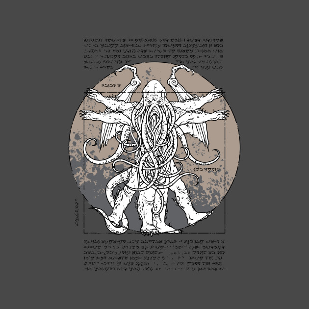 Lovecraftian Man 02