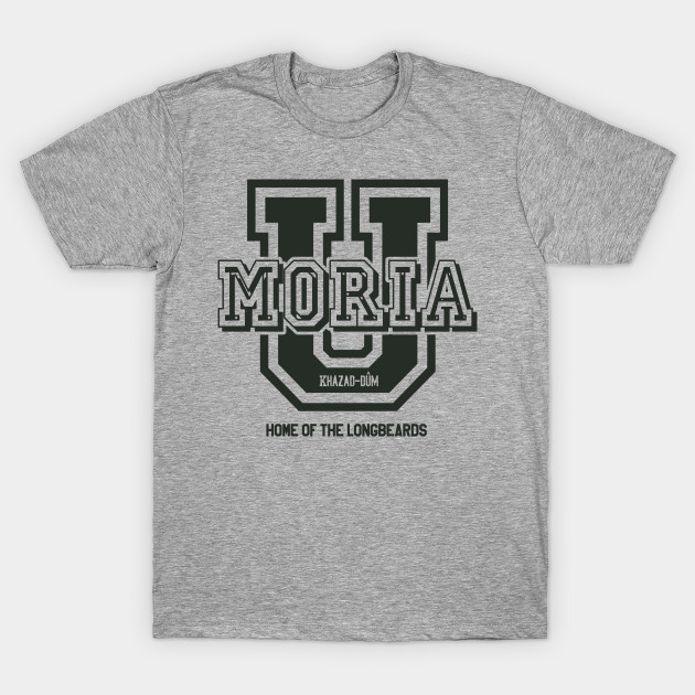 Lord of the Rings Moria University T-Shirt