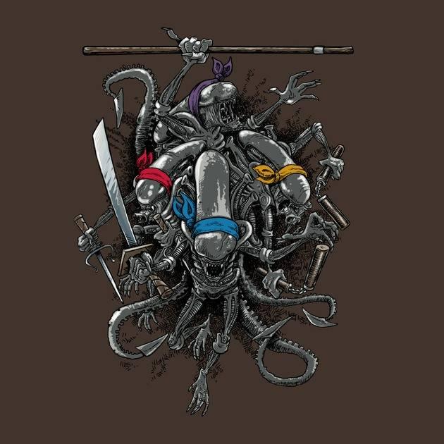 Ninja Aliens
