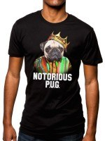 Notorious P.U.G. Dog T-Shirt