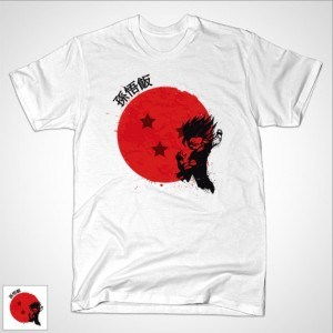 Red Sun Gohan T-Shirt