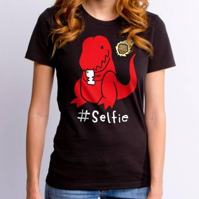 #Selfie Dino