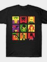 Bat PopArt T-Shirt