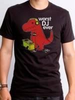Worst DJ Ever Dino T-Shirt