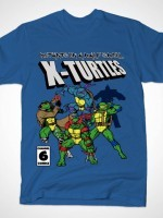 X-TURTLES MUTANTS IN A HALF SHELL T-Shirt