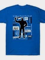 Big Blue Bug of Justice T-Shirt
