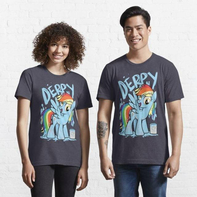Derpy Dash (My Little Pony Friendship is Magic) T-Shirt