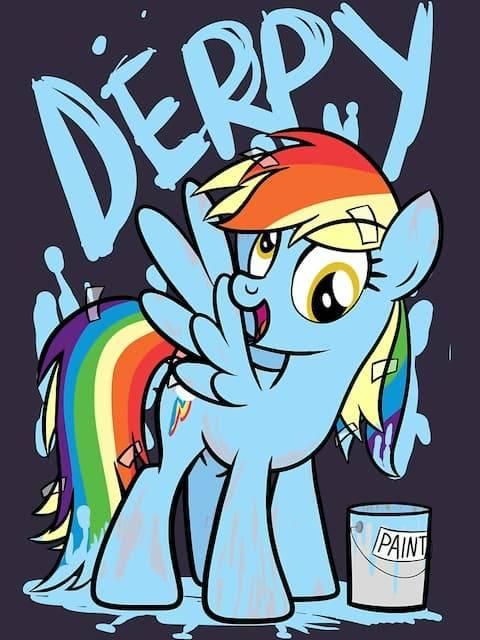Derpy Dash (My Little Pony Friendship is Magic)