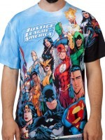 Justice League America Sublimation T-Shirt