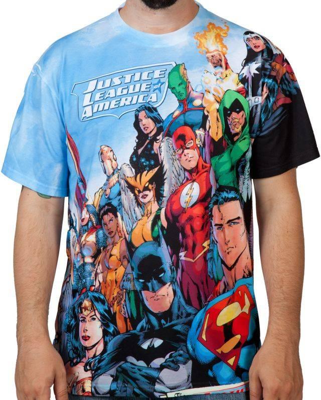 Justice League America Sublimation
