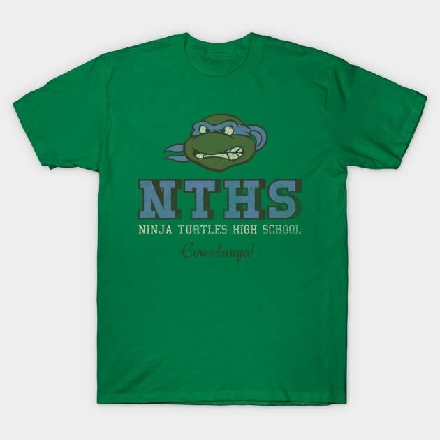 Ninja Turtle High School T