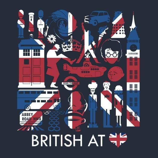 THE BRITISH AT HEART