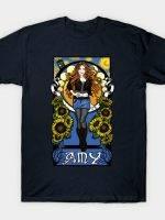 The Girl Who Waited Under a Van Gogh Sky T-Shirt