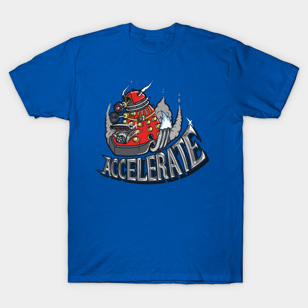 V8 ACCELERATE Dalek T-Shirt