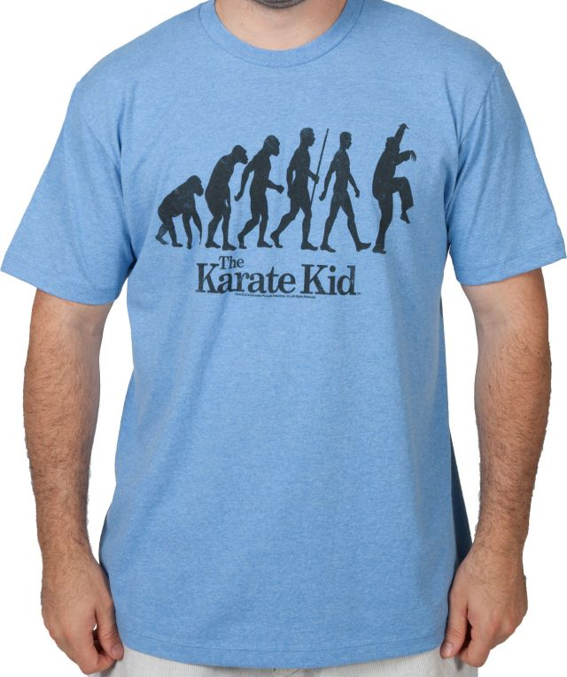 Evolution Crane Kick Karate Kid