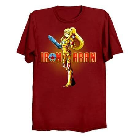 Iron Samus Aran T-Shirt