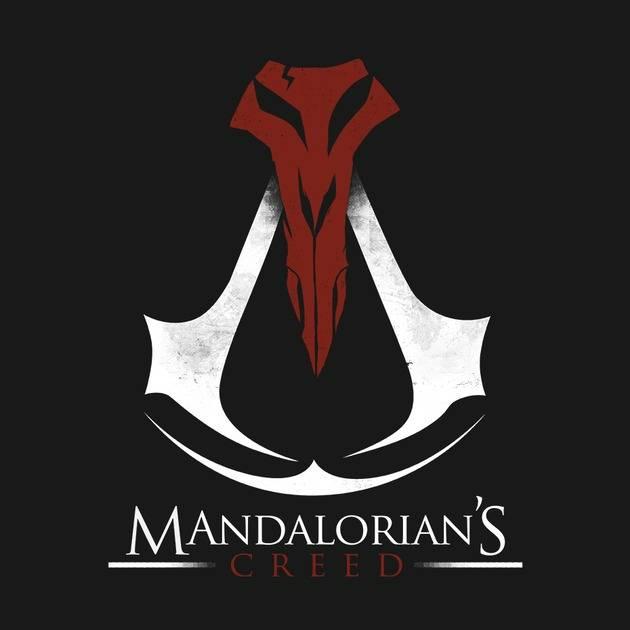 MANDALORIAN'S CREED (BLACK)