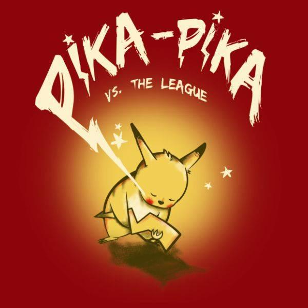 Pika-Pika VS. The League