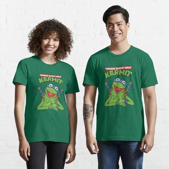 Teenage Muppet Ninja Kermit T-Shirt