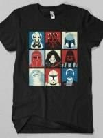 Wars Villains Pop Art T-Shirt