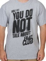Do Not Talk About Fight Club T-Shirt