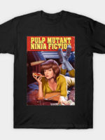 Pulp Mutant Ninja Fiction T-Shirt