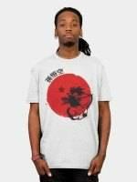Red Sun Young Goku T-Shirt