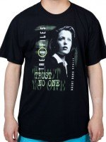 Scully X-Files T-Shirt