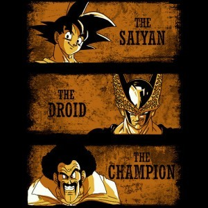 The Saiyan The Droid The Champion