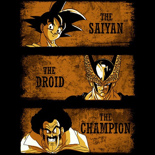 The Saiyan, The Droid & The Champion