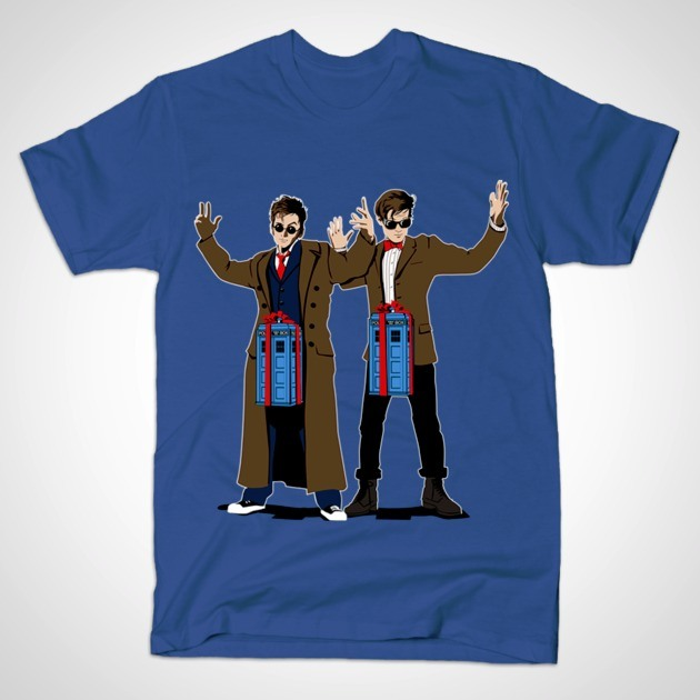 DOC IN A BOX TARDIS LOVERS T-Shirt