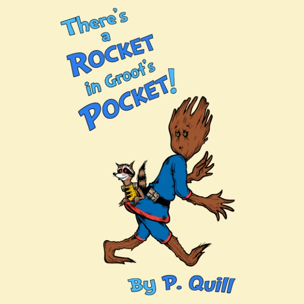 There's A Rocket In Groot's Pocket